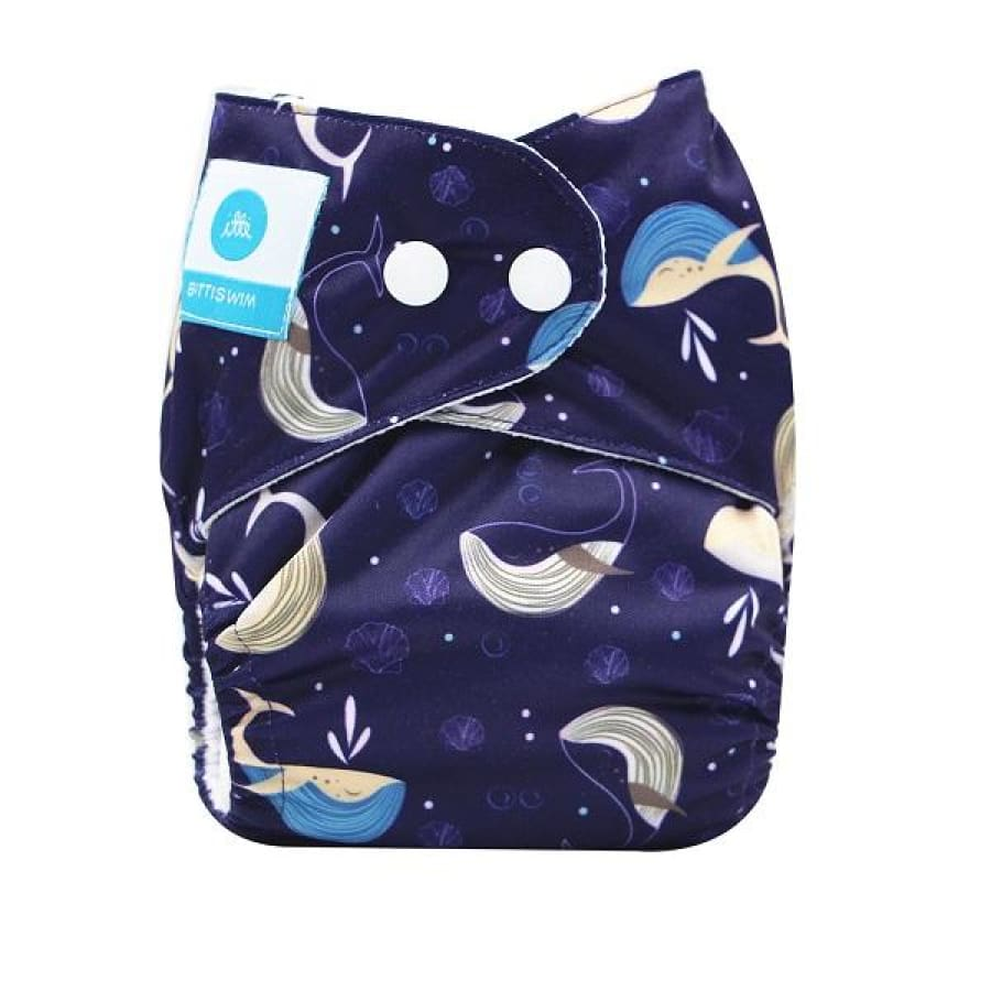itti Bitti Reusable Swim Nappy - Flop - Small - Cloth Nappies cloth nappy