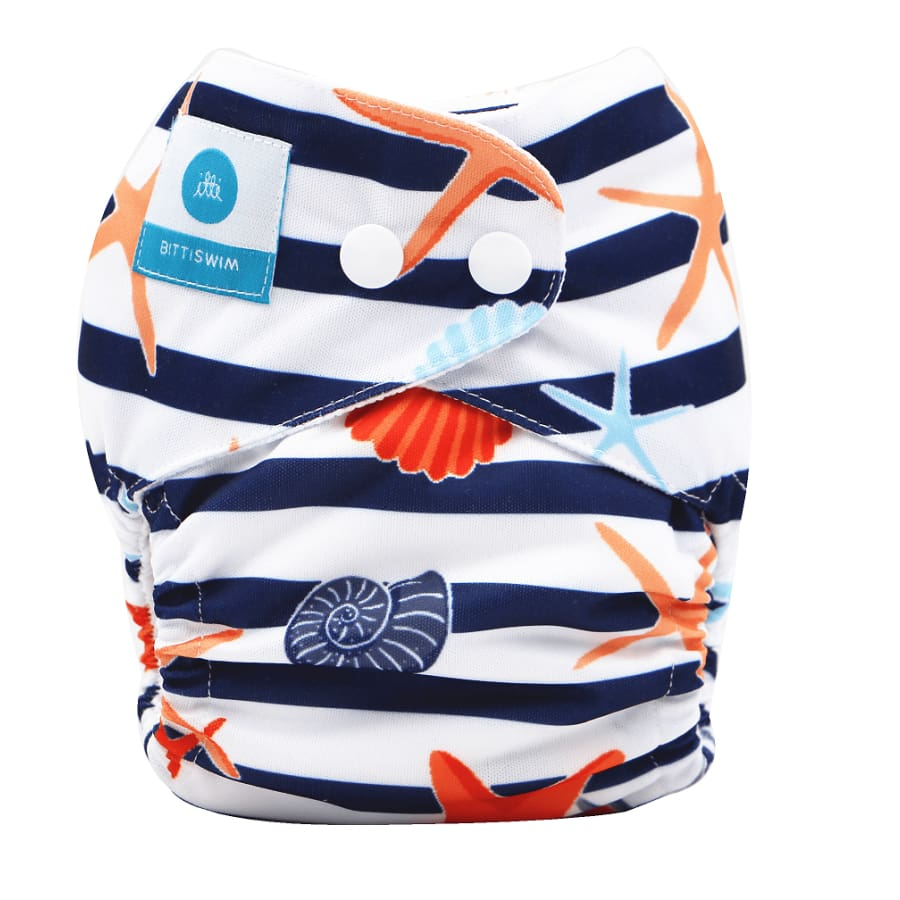 itti Bitti Reusable Swim Nappy - Rock Pool - Small - Cloth Nappies cloth nappy