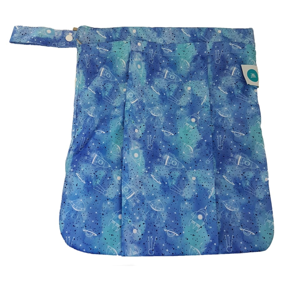 itti Premium Double Pocket Wetbag: Apollo - Cloth Nappies wet bag