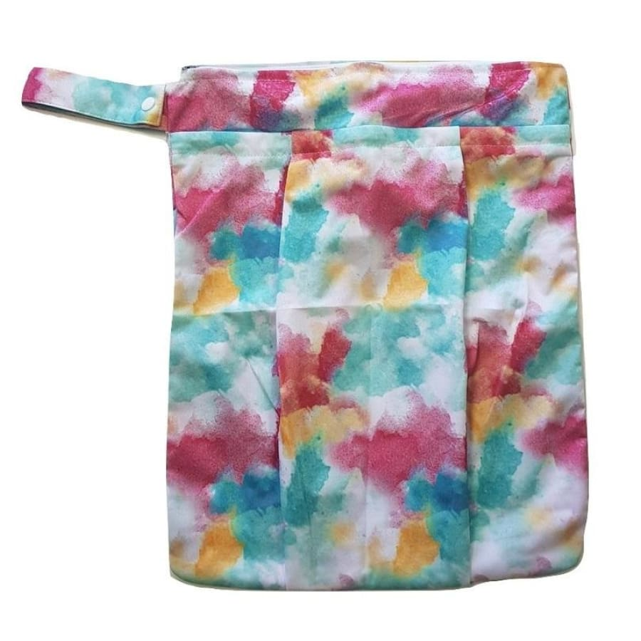 itti Premium Double Pocket Wetbag - Burst - Cloth Nappies wet bag