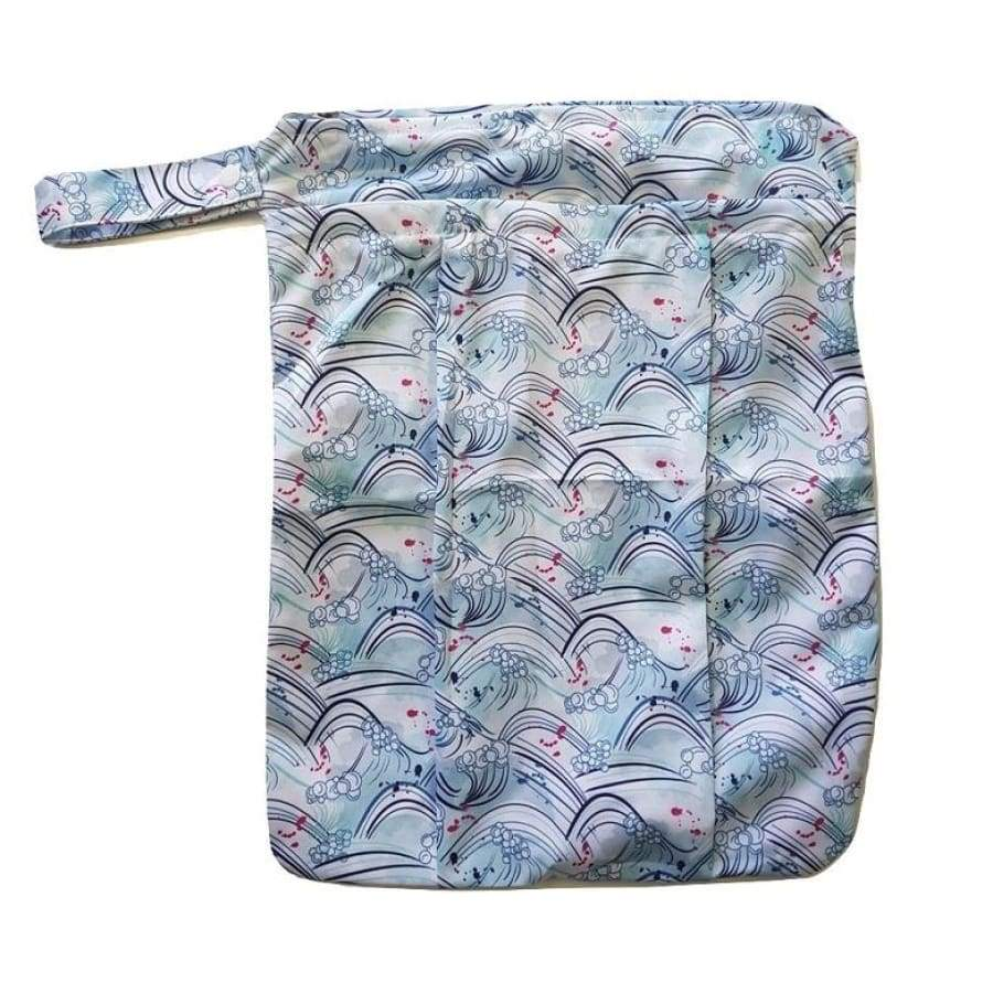 itti Premium Double Pocket Wetbag - Curl - Cloth Nappies wet bag