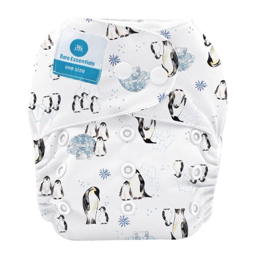 itti Snap Bare Essentials One Size Fits Most Nappy – Antarctica - Bamboo - Cloth Nappies cloth nappy 5% off