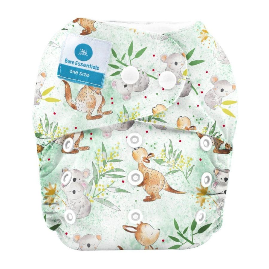 itti Snap Bare Essentials One Size Fits Most Nappy – Australia - Bamboo - Cloth Nappies cloth nappy 5% off