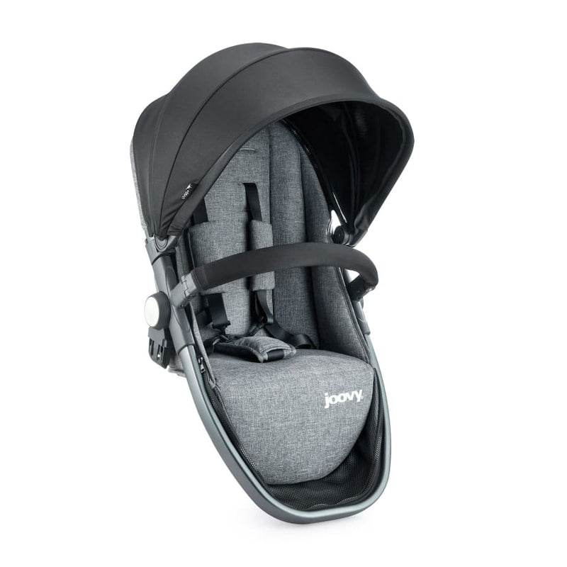Joovy Qool Second Seat - Black Melange - Pram Second Seat pram