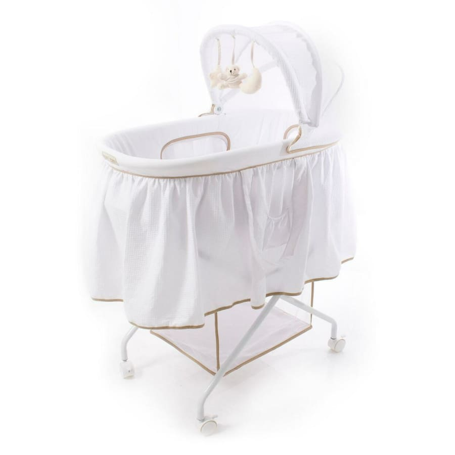 Love n Care Complete Bassinet - Vanilla - Cradle bassinet by my side co sleeper cradle love n care