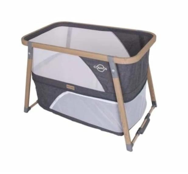 Love n Care Cosmos 3-in-1 Sleeper - Charcoal - Cradle bassinet by my side co sleeper cradle love n care 20% off