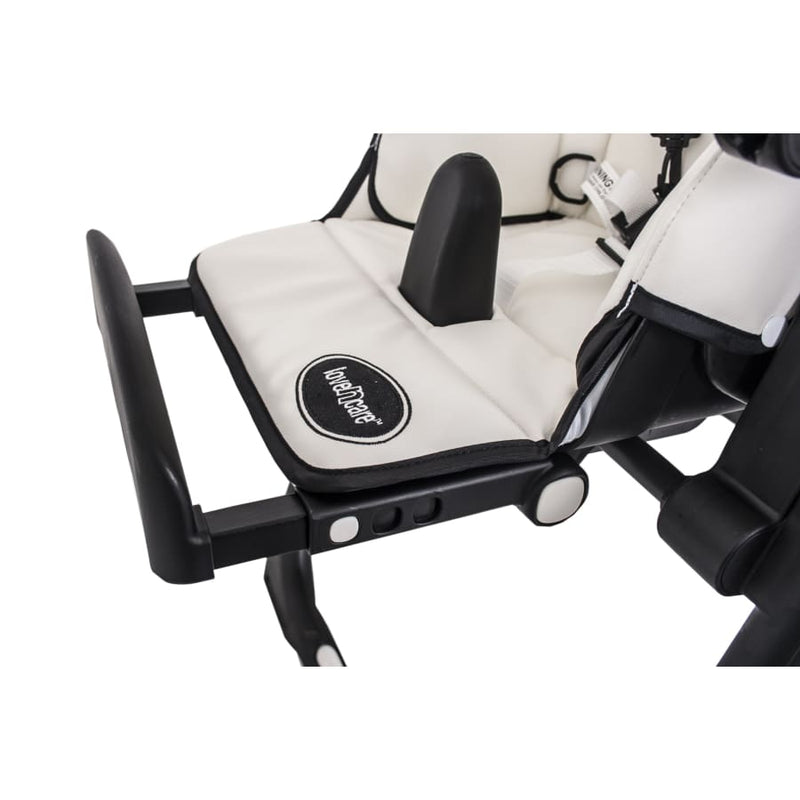 Love n Care Montana Highchair - Black - Highchair feeding highchair love n care