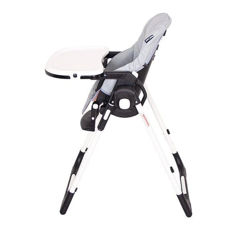 Love n Care Montana Highchair - Grey - Grey - Highchair feeding highchair love n care 10% off