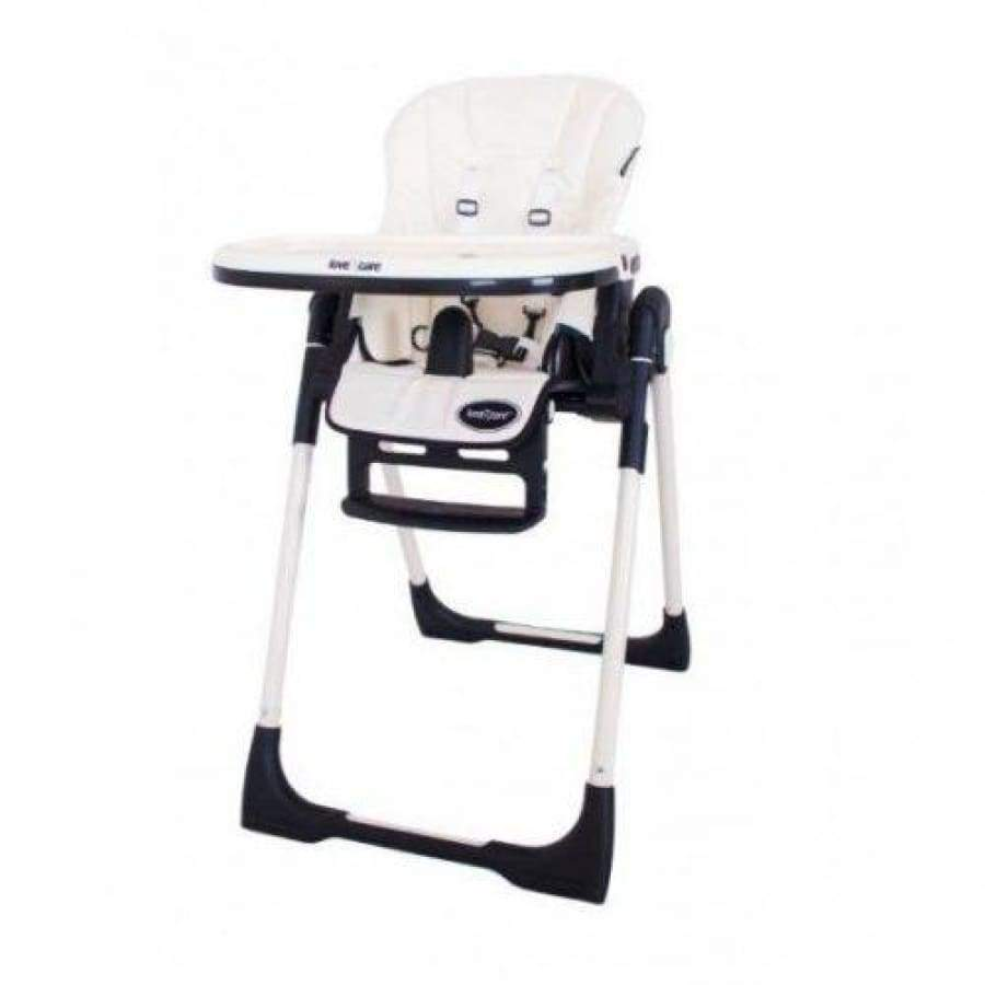 Copy of Love n Care Montana Highchair - White - White - Highchair feeding, highchair, love n care 15% off