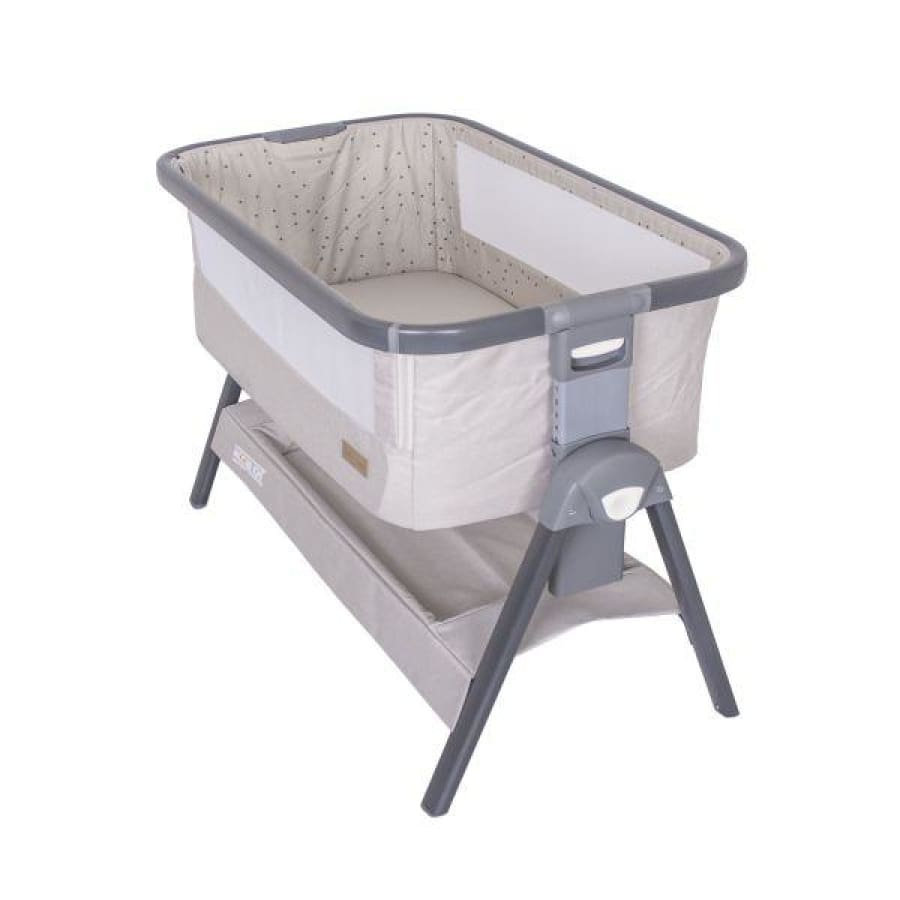 Love n Care Moonlight Sleeper - Ash - Cradle bassinet by my side co sleeper cradle love n care