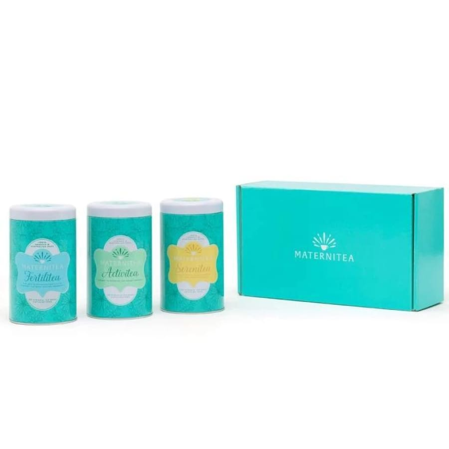 Maternitea - Fertility Cleanse Pack - Tea maternitea pregnancy set trimester