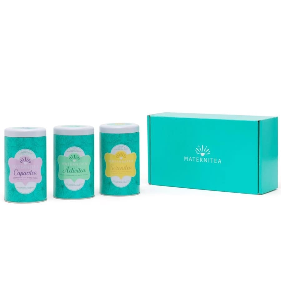 Maternitea - Trimester Three Pack - Tea maternitea pregnancy set tea