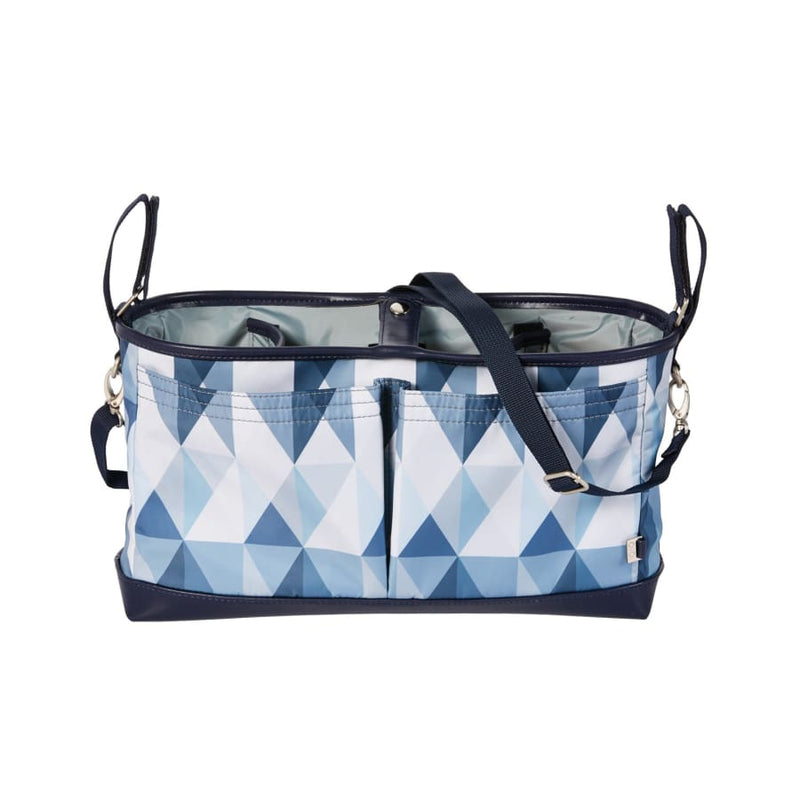 OiOi Stroller Organiser/Pram Caddy - Scandi Blue - Nappy Bag nappy bag