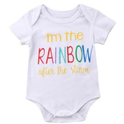 Rainbow After the Storm Onesie - 0-6 Months - Onesies onesies