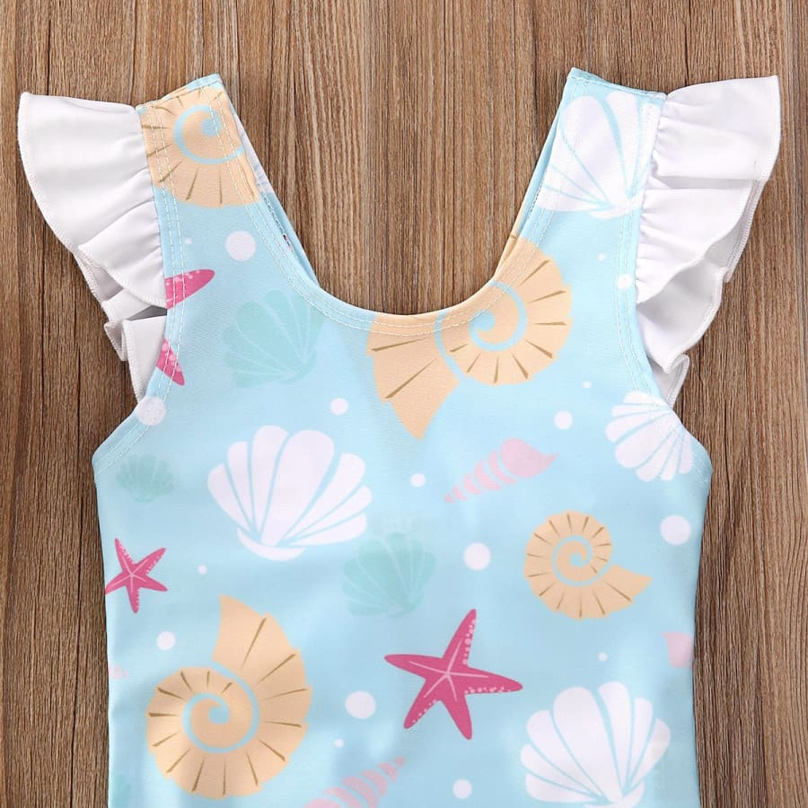 Sea Shell One Piece - Swimsuit beach summer swimsuit