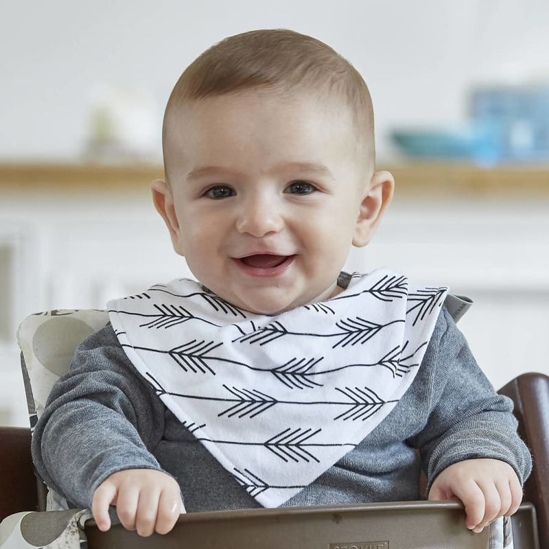 Silly Billyz Jersey Bandana Bib - Arrows - Bibs bib Silly Billyz