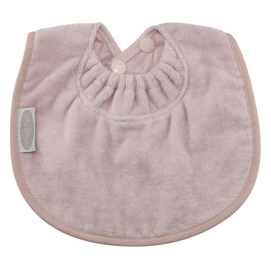 Silly Billyz Towel Biblet - Antique Pink - Bibs bib biblet Silly Billyz towel