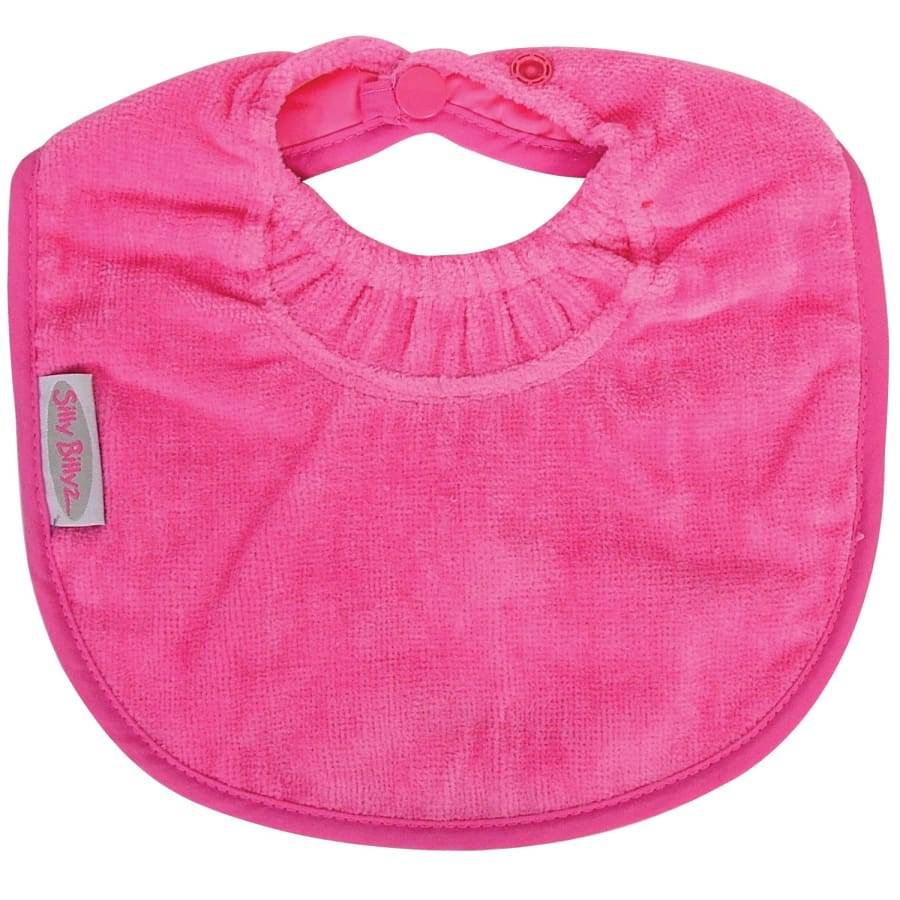 Silly Billyz Towel Biblet - Cerise - Bibs bib biblet Silly Billyz towel