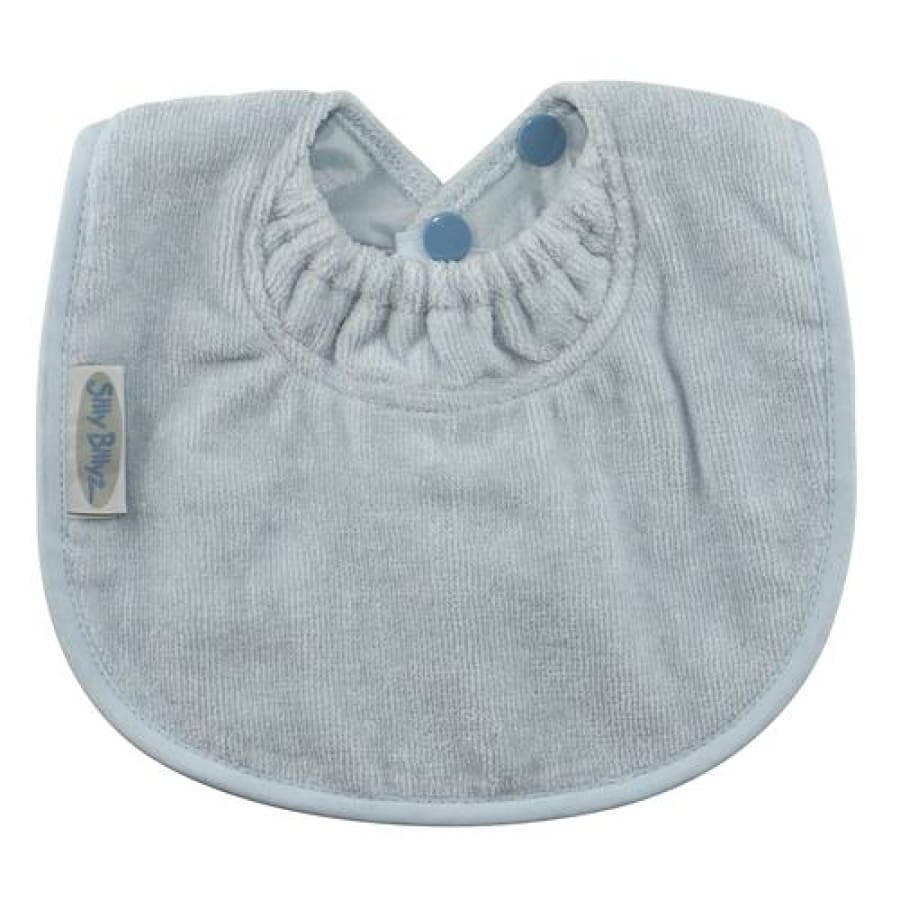 Silly Billyz Towel Biblet - Dusty Blue - Bibs bib biblet Silly Billyz towel