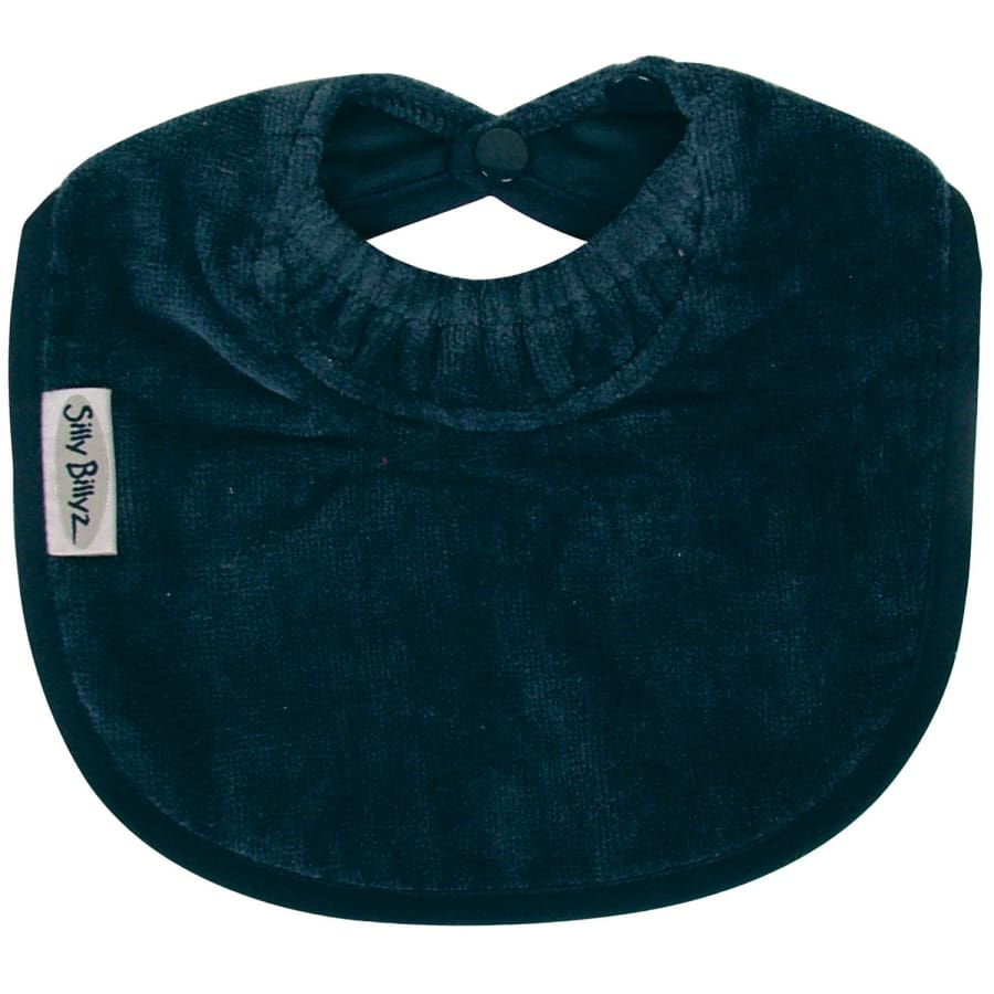 Silly Billyz Towel Biblet - Navy - Bibs bib biblet Silly Billyz towel