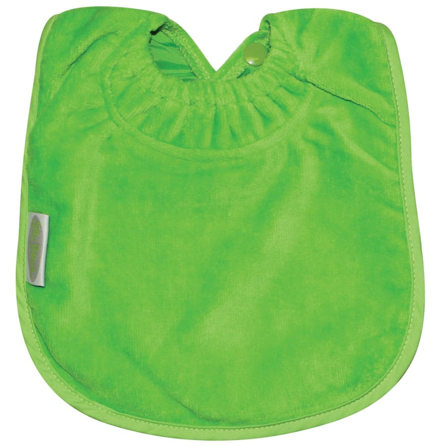 Silly Billyz Towel Large Plain Bib - Lime - Bibs bib large plain Silly Billyz towel