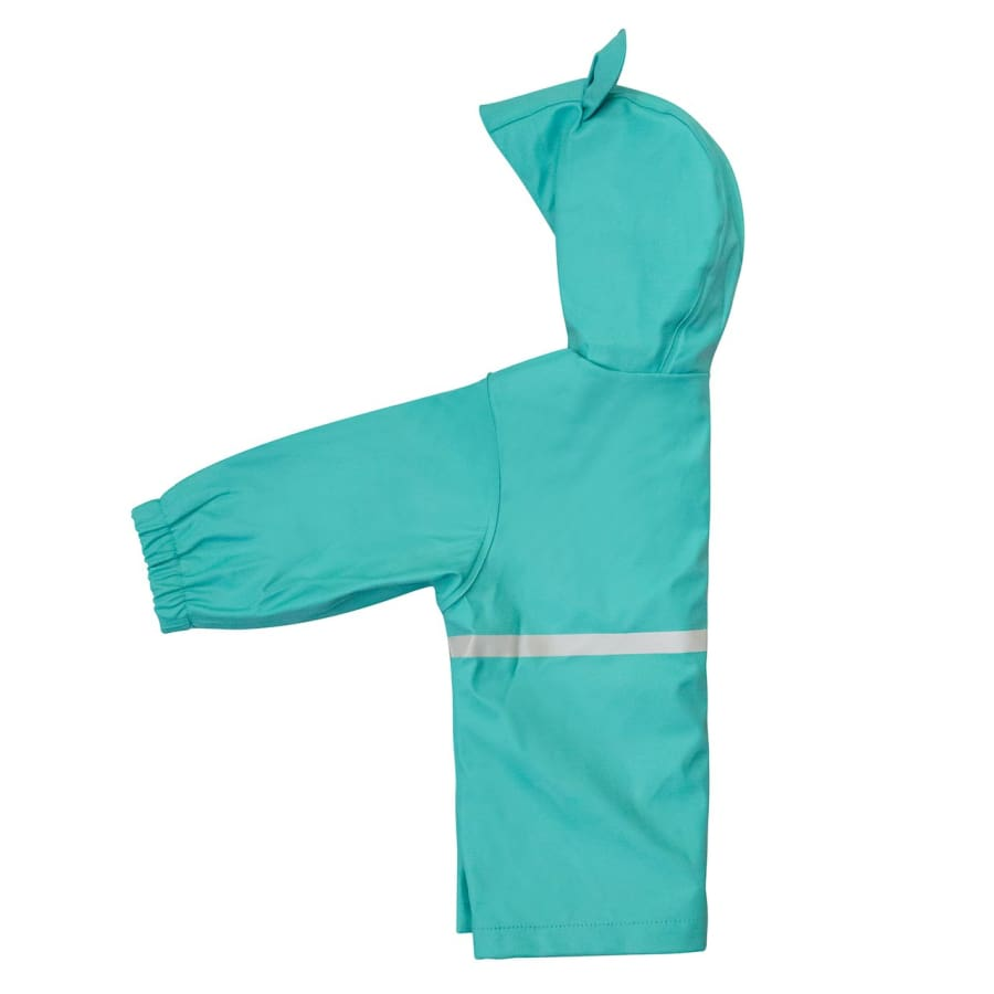 Silly Billyz Waterproof Jacket - Aqua Bear - Jacket jacket overalls silly billyz waterproof weather