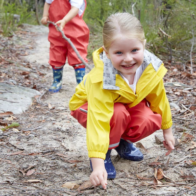 Silly Billyz Waterproof Jacket - Yellow - Jacket overalls silly billyz waterproof weather