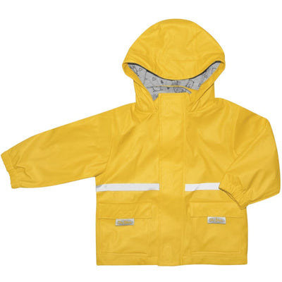 Silly Billyz Waterproof Jacket - Yellow - Small - Jacket overalls silly billyz waterproof weather