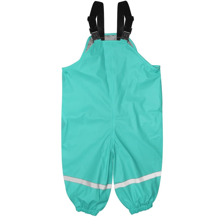 Silly Billyz Waterproof Overalls - Aqua - X-Large - Overalls overalls, silly billyz, waterproof, weather