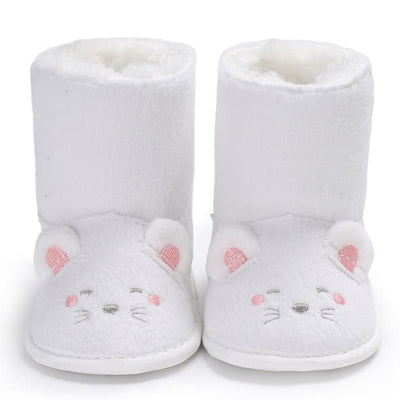 Snuggly Animal Slipper Boots - Shoes Shoes