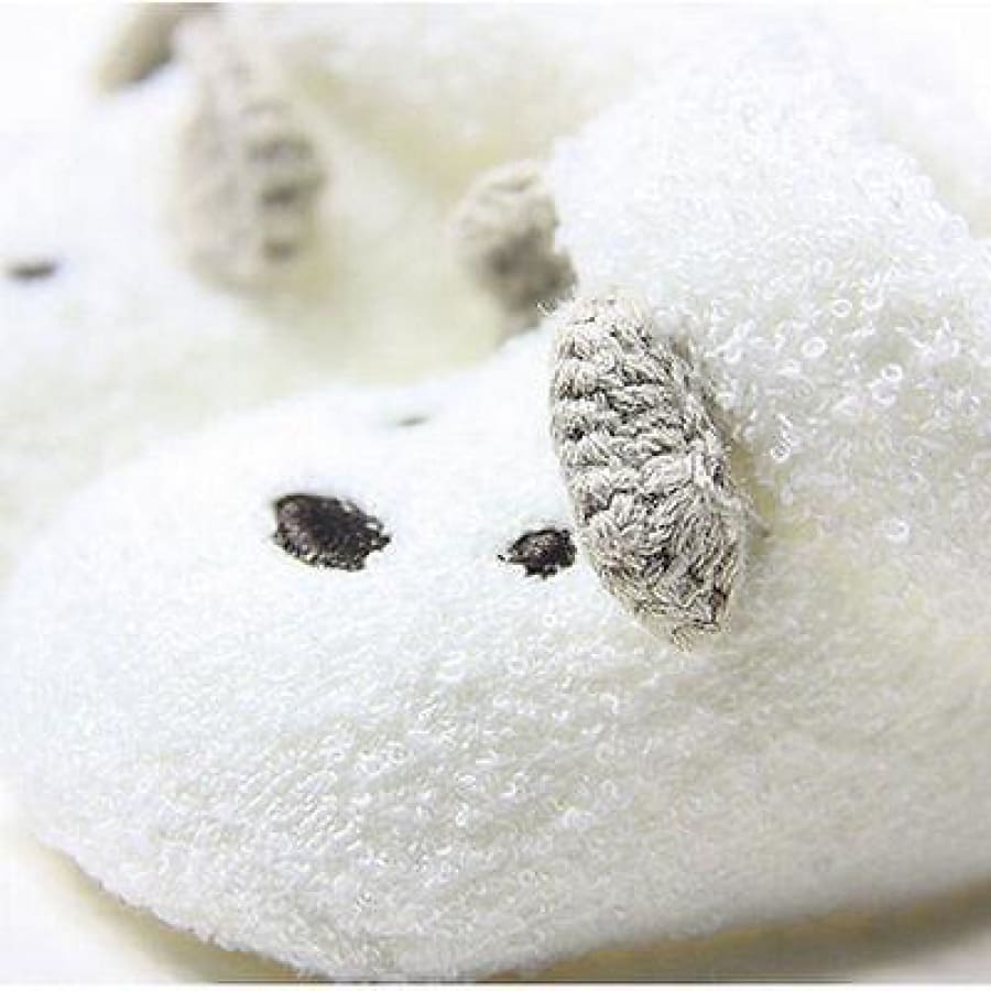 Snuggly Bear Booties - Shoes Booties Newborn Shoes