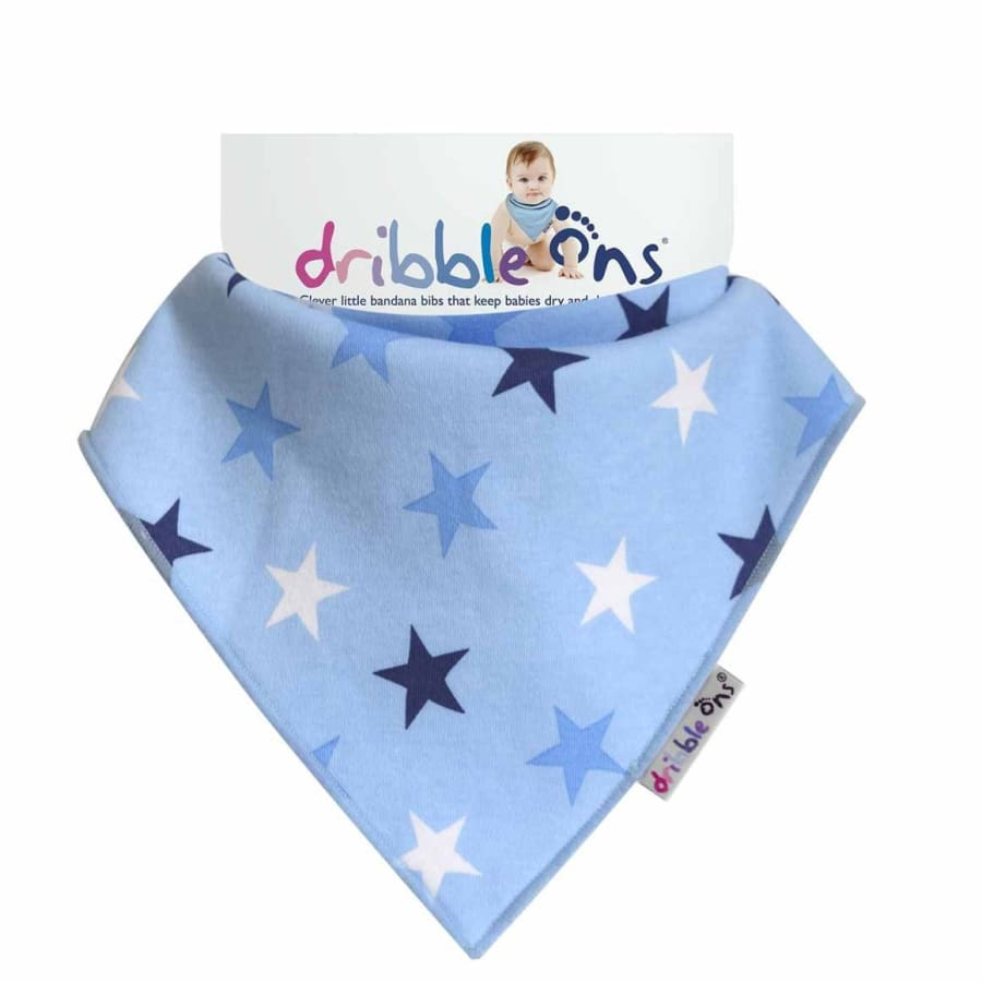 SOCK ONS Dribble Ons Blue Star - Bibs Bibs