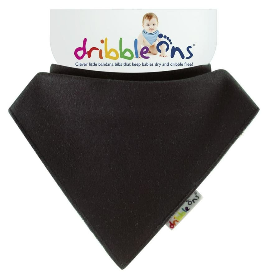 SOCK ONS Dribble Ons Charcoal - Bibs Bibs 10% off