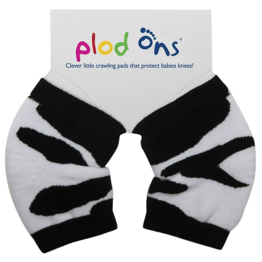 SOCK ONS Plod Ons Cow Print - Knee Pads Bibs 10% off