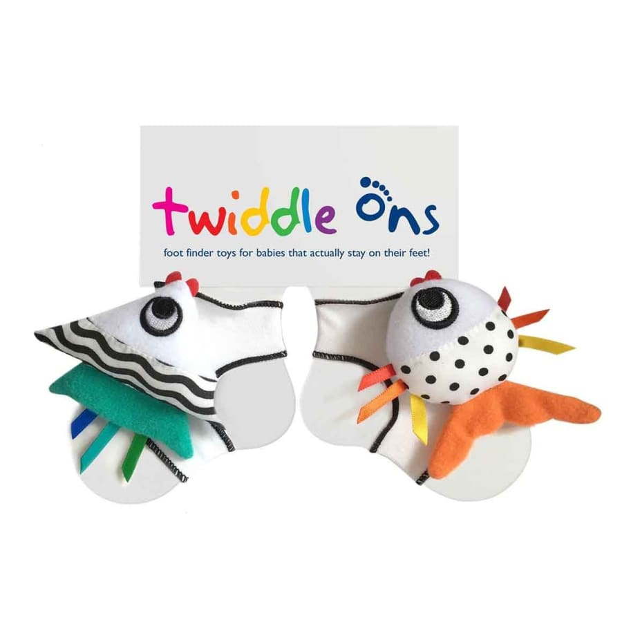 SOCK ONS Twiddle Ons White - Socks Socks