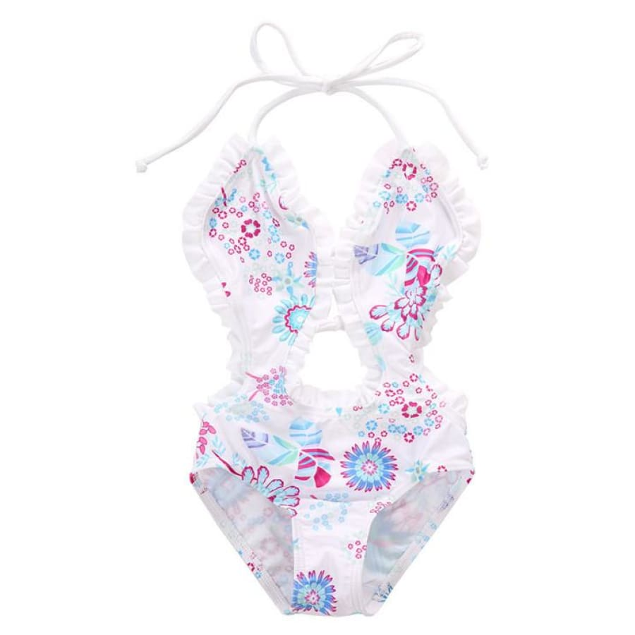 Sophie Floral Swimsuit - 1-2 Years - Swimsuit Swimsuit
