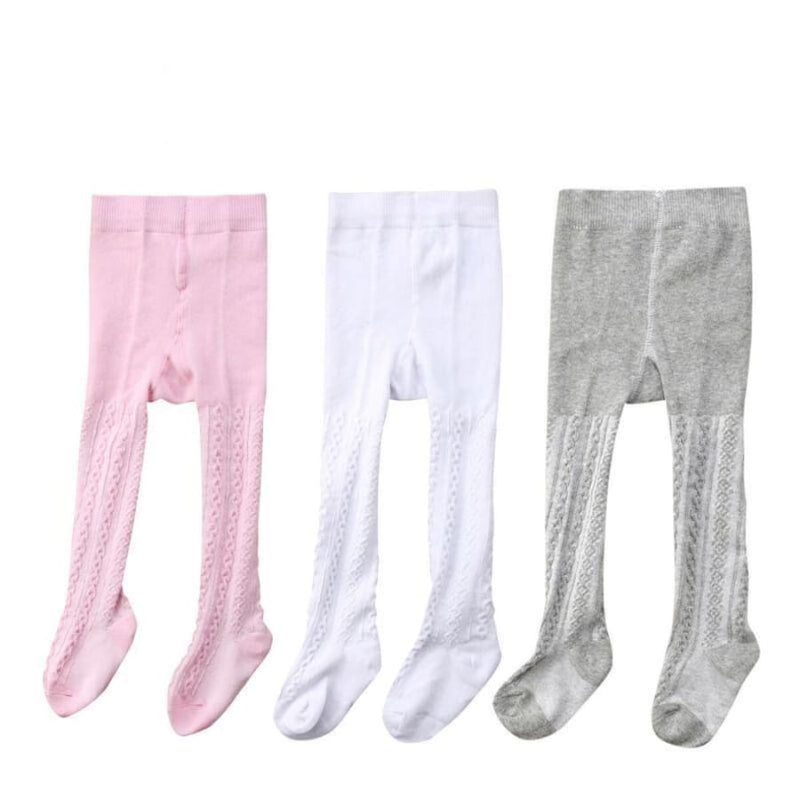 Textured Tights - 3 Pack - Socks