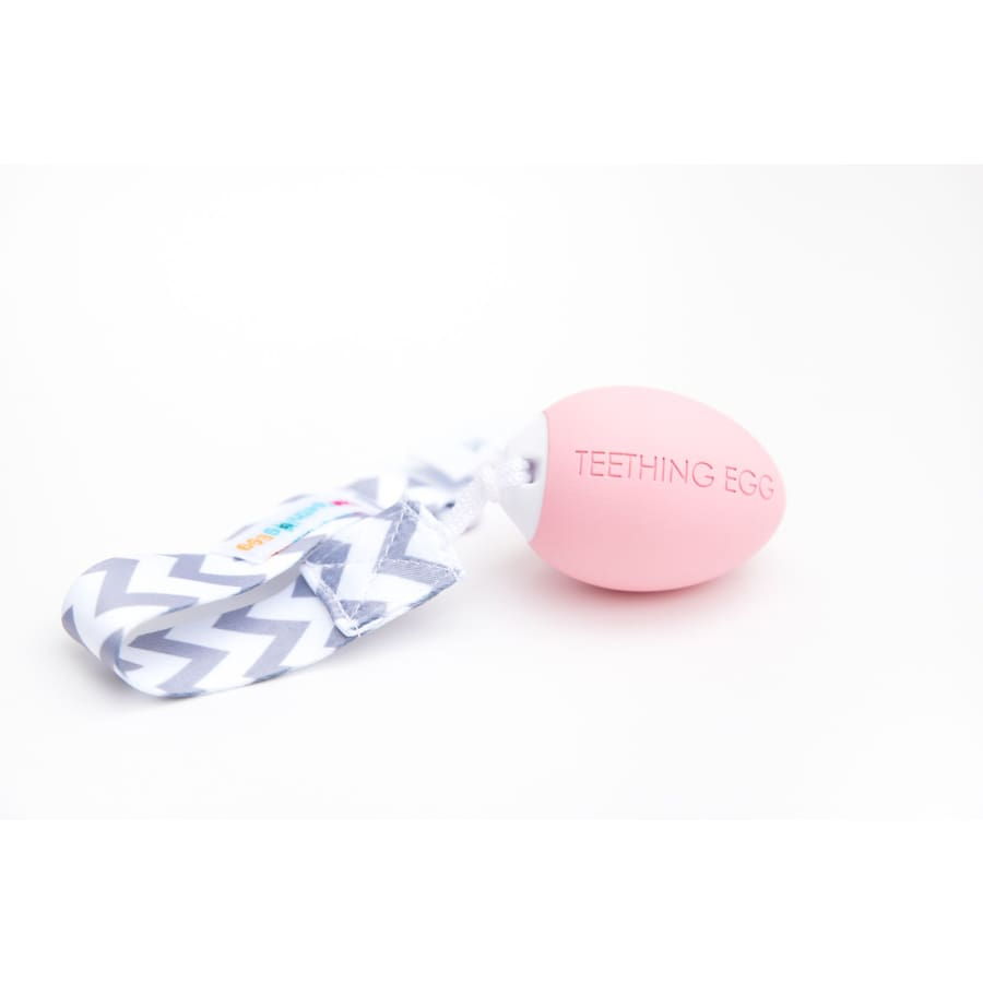 The Teething Egg - Pink - Teether teether