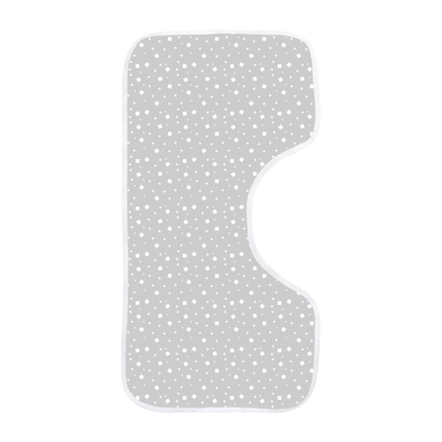 Towelling Stories Bamboo Burp Cloth - Grey - Towel bamboo, bib, burp 5% off