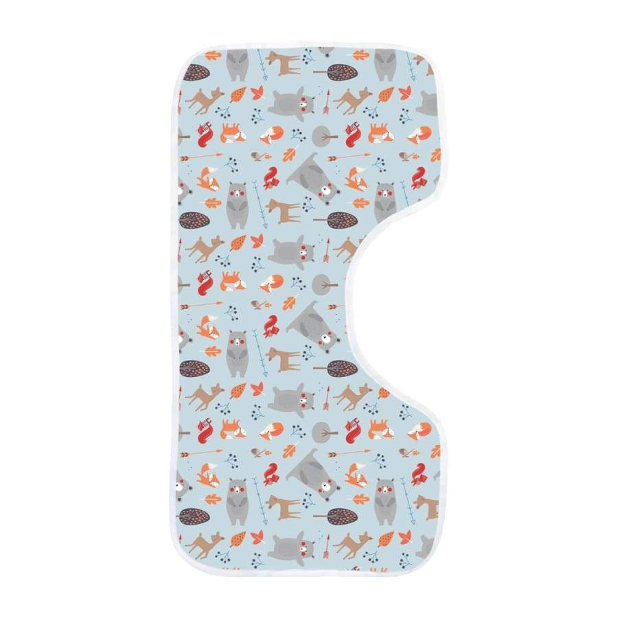 Towelling Stories Bamboo Burp Cloth - Woodland Animals - Towel bamboo, bib, burp 5% off