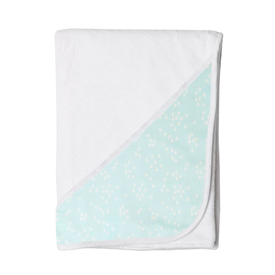 Towelling Stories Hands Free Baby Bath Towel - Blue Rain - Towel towel