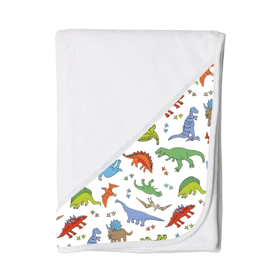 Towelling Stories Hands Free Baby Bath Towel - Dinosaur - Towel towel 5% off