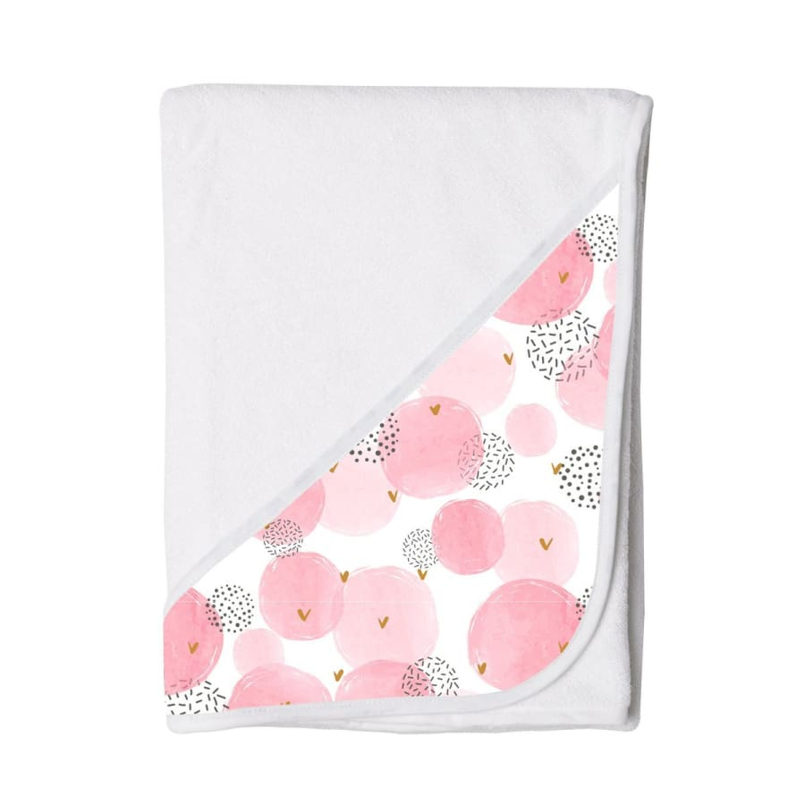 Towelling Stories Hands Free Baby Bath Towel - Pretty in Pink - Towel towel 5% off