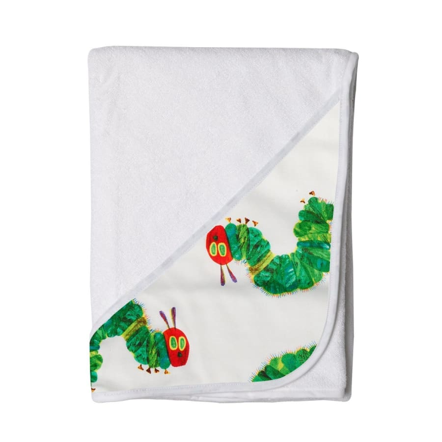 Towelling Stories Hands Free Baby Bath Towel - Very Hungry Caterpillar - Towel towel