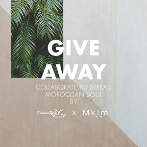 GIVEAWAY: Mykilimshop &MoroccanBirds collaborate to give you the chance to win one piece of their Collection