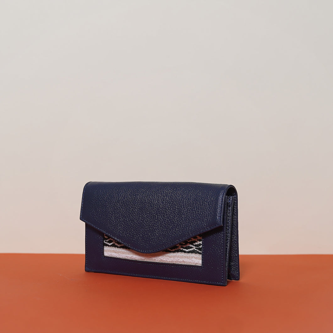 Lalla Wallet Dark Blue
