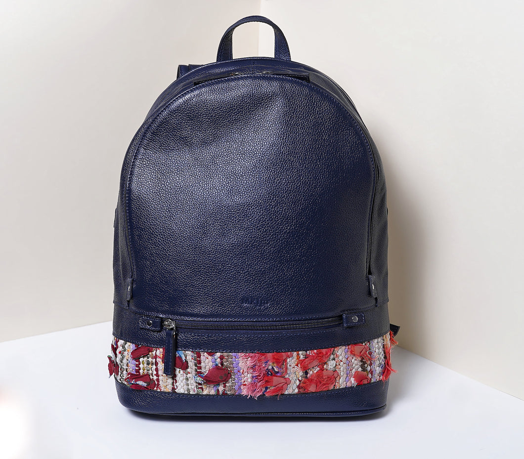 Fam Backpack Dark Blue