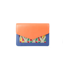 ALOUANE Belt Bag Orange blue
