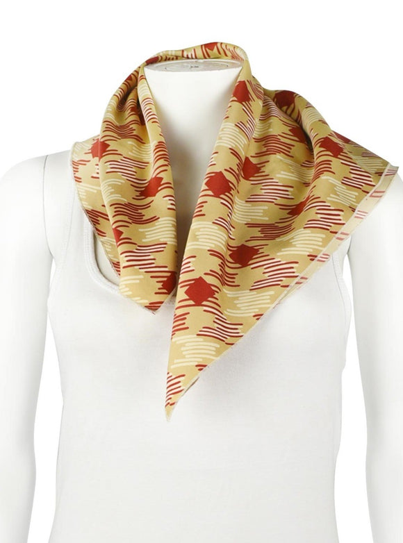 RED AND GOLD NECKERCHIEF