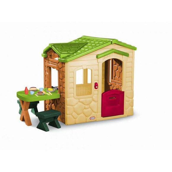 Little Tikes Picnic on the Patio Playhouse - Natural:Little Tikes:Swing Happy
